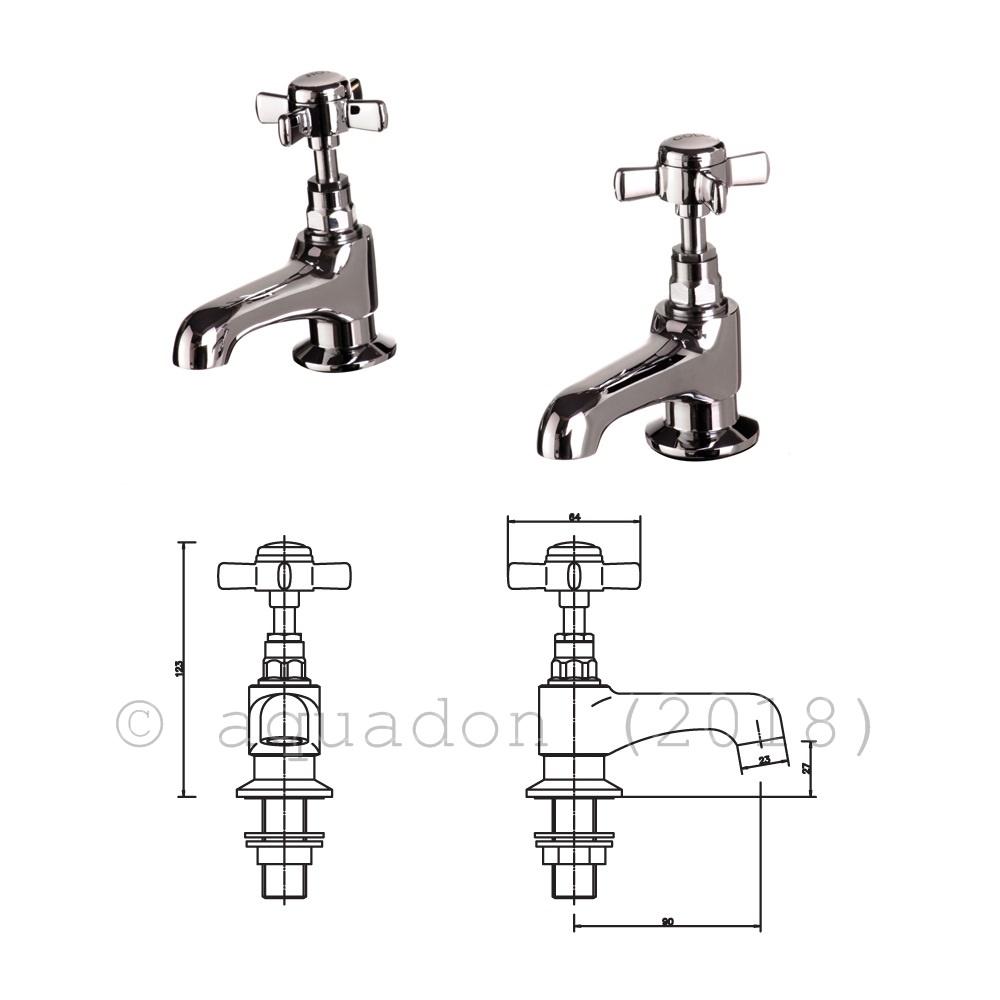 Bathroom Basin Sink Bath Shower Mixer Taps Modern