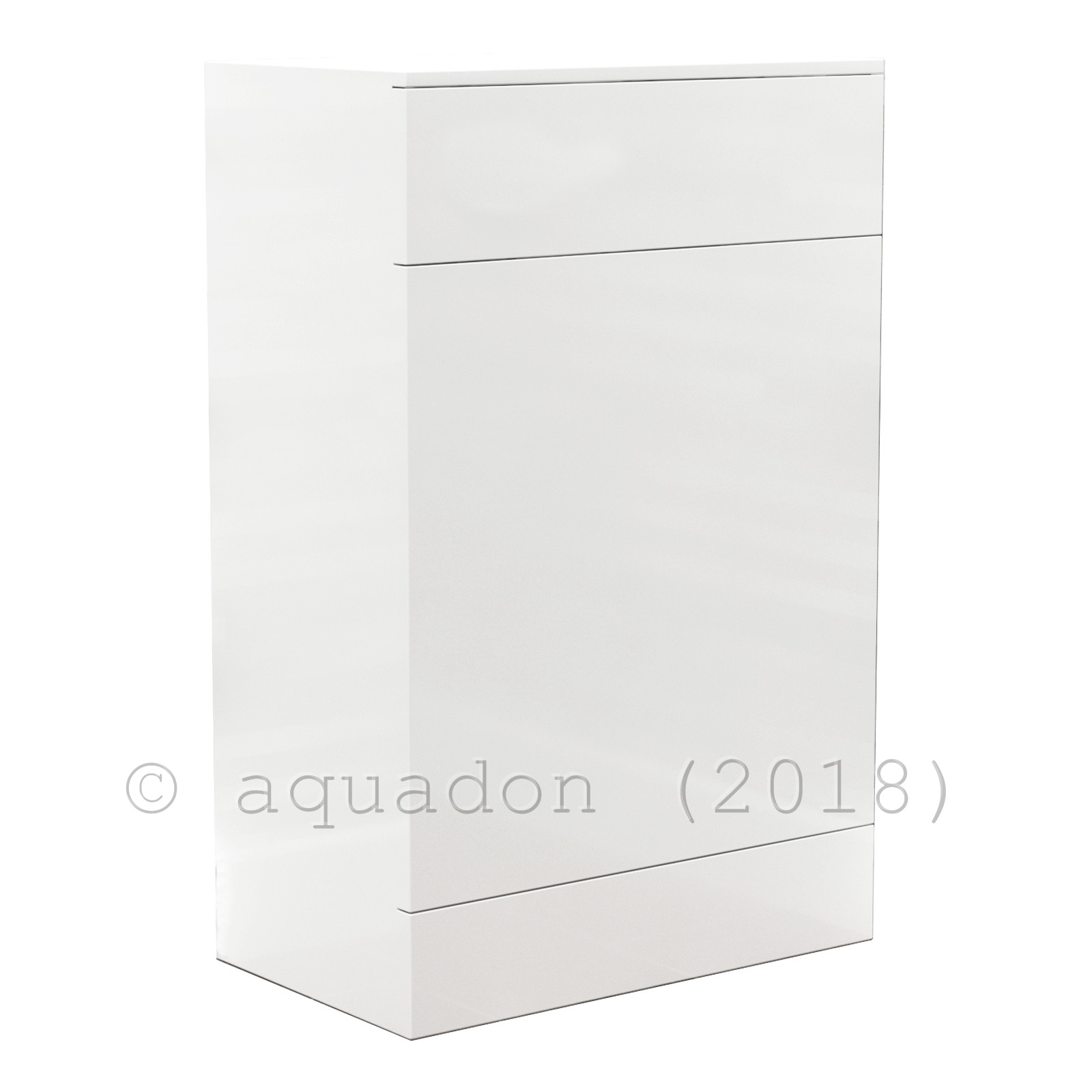 500mm 600mm Classic Back To Wall Wc Bathroom Furniture Vanity Btw Unit White Ebay
