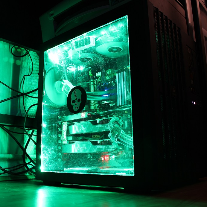 Awesome Rgb Led Case Mod Tutorial Cheap Overclockers