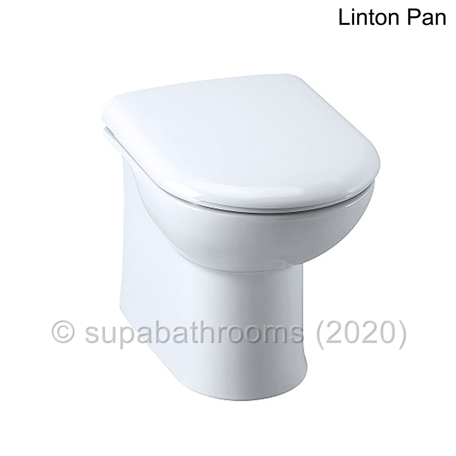 Back To Wall Btw Vanity Toilet Unit Wc Pan Concealed